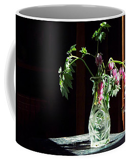 Coffee Mug featuring the photograph Bleeding Heart Bouquet by Joy Nichols