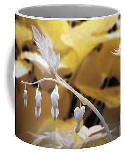 Bleeding Heart Gld Coffee Mug by Paul Seymour