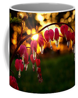 Bleeding Heart Sunset Coffee Mug
