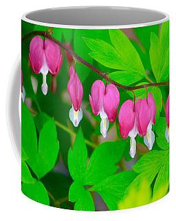 Bleeding Hearts Coffee Mug by Tiffany Erdman