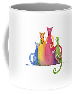 Blended Family Of Five Coffee Mug