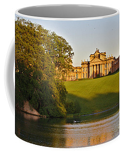 Blenheim Palace And Lake Coffee Mug