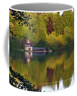 Blenheim Palace Boathouse 2 Coffee Mug
