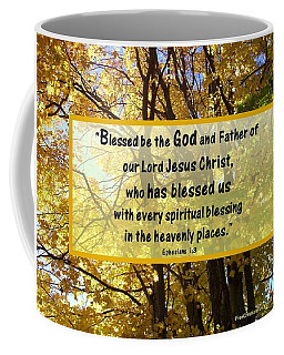 Coffee Mug featuring the photograph Blessed Be God by Sonya Nancy Capling-Bacle