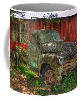 Blind In One Eye 1947 Chevy Flatbed Truck Art Coffee Mug