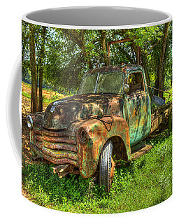 Blind In One Eye2 1947 Chevy Flatbed Truck Coffee Mug