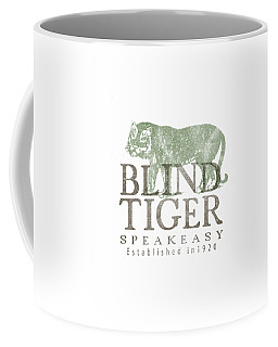 Blind Tiger Speakeasy Tee Coffee Mug