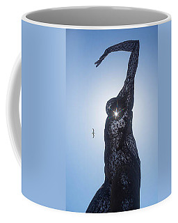 Coffee Mug featuring the photograph Bliss Dancer by Lora Lee Chapman