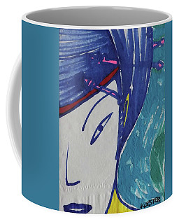 Blue Geisha  Coffee Mug