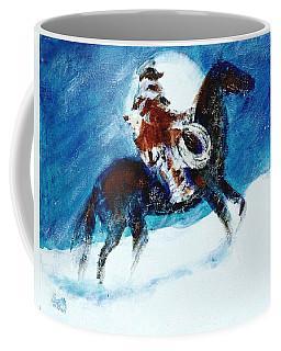 Blizzard Moon-the Last Stray Coffee Mug