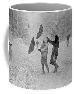 Blizzard On Third Avenue Coffee Mug