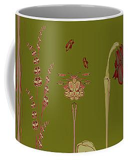Blob Flower Garden Full View Coffee Mug