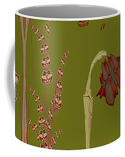 Blob Flower Garden Coffee Mug