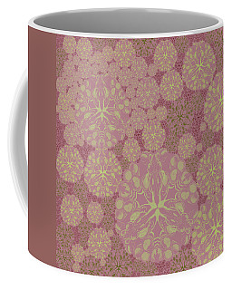 Blob Flower Painting #3 Pink Coffee Mug