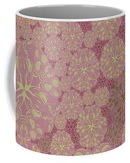Blob Flower Painting #3 Pink Coffee Mug