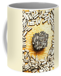 Block Of Communication Coffee Mug