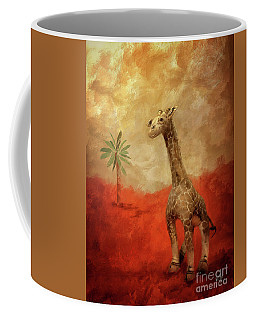 Coffee Mug featuring the digital art Block's Great Adventure by Lois Bryan