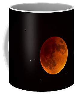 Blood Moon Lunar Eclipse 2015 Coffee Mug
