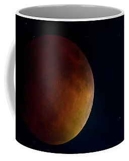 Coffee Mug featuring the photograph Blood Moon by Mark Andrew Thomas