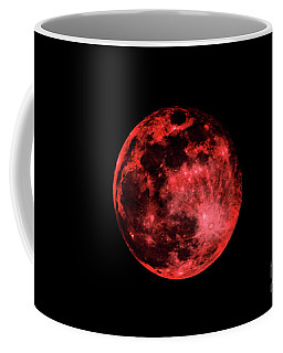 Blood Red Moonscape 3644b Coffee Mug
