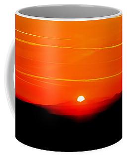 Blood Red Sunset Coffee Mug