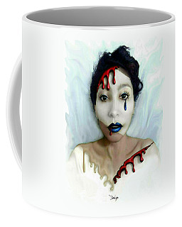 Blood Sweat Tears Faced Coffee Mug