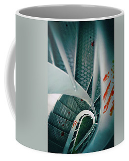 Coffee Mug featuring the photograph Bloody Stairway by Carlos Caetano