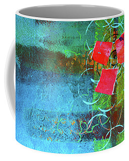 Bloom Abstract Collage Coffee Mug