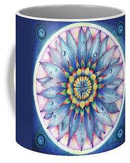 Coffee Mug featuring the painting Bloom Of Counsciousness by Anna Ewa Miarczynska
