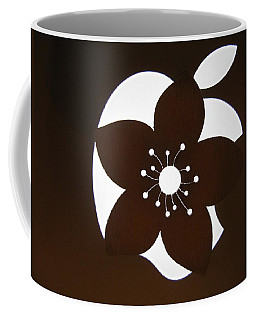 Blooming Apple Mac Coffee Mug