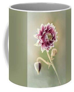 Blooming Columbine Flower Coffee Mug