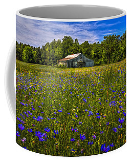 Blooming Country Meadow Coffee Mug by Marvin Spates