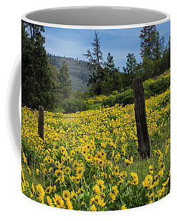 Blooming Fence Coffee Mug