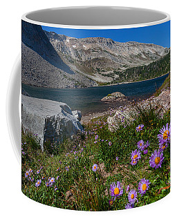 Blooming In Snowy Range Coffee Mug