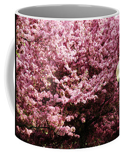 Coffee Mug featuring the photograph Blooming Light by Cyryn Fyrcyd