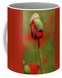 Blooming Orange Poppy Coffee Mug
