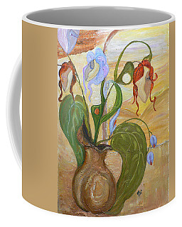 Blooming Orchids In The Vase Coffee Mug