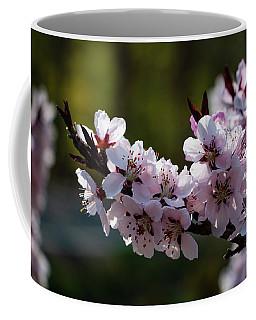 Blooming Peach Tree Coffee Mug