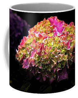 Coffee Mug featuring the photograph Blooming Pink Hydrangea by Onyonet  Photo Studios