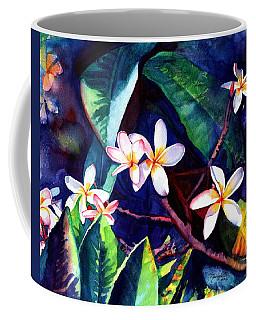 Blooming Plumeria Coffee Mug