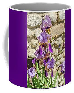 Blooming Purple Iris Coffee Mug