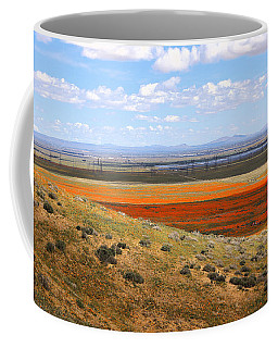 Coffee Mug featuring the photograph Blooming Season In Antelope Valley by Viktor Savchenko