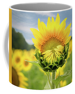 Blooming Sunflower Coffee Mug