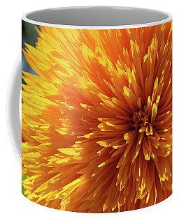 Coffee Mug featuring the photograph Blooming Sunshine by Marie Leslie