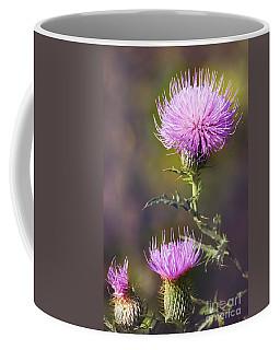 Blooming Thistle Coffee Mug