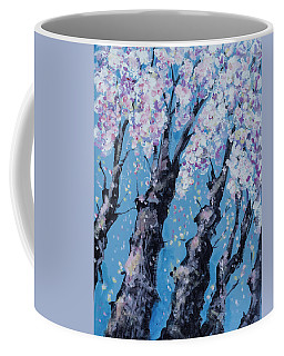 Blooming Trees Coffee Mug