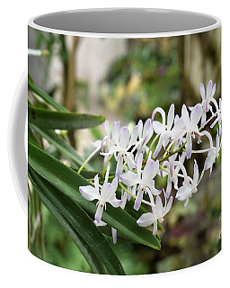 Blooming White Flower Spike Coffee Mug