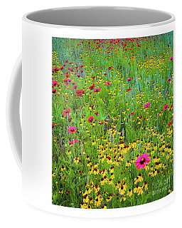 Coffee Mug featuring the photograph Blooming Wildflowers by D Davila