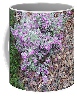 Coffee Mug featuring the painting Blooms by Mordecai Colodner