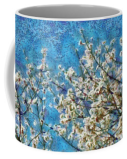 Blossom And Blue Sky In Monet Style Coffee Mug